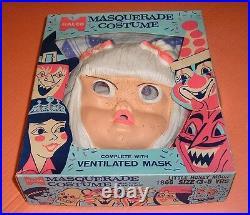 1965 Dick Tracy LITTLE HONEY MOON Halloween Costume RARE Moon Maid's Child