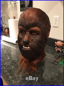 1967 Don Post Wolfman B mask by Rob Tharp