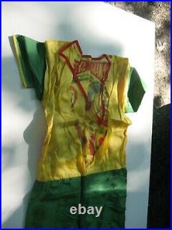 1968 Ben Cooper Banana Splits Bingo Halloween Costume Complete In VG Condition