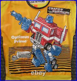 1984 Optimus Prime Transformers Halloween Costume Never Worn Hasbro
