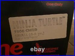 1989 Collegeville TEENAGE MUTANT NINJA TURTLES RAPHAEL HALLOWEEN Costume