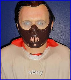 2008 Silence Of The Lambs Hannibal Lecter Animatronic Halloween Prop By Gemmy