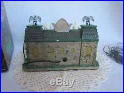 2009 Lemax Halloween Spooky Town Graveside Diner Mint in Box and NRFB