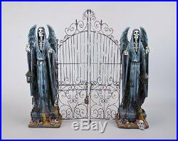 28-728624 Katherine's Collection LARGE 26 Grim Reaper Cemetery Gate Halloween