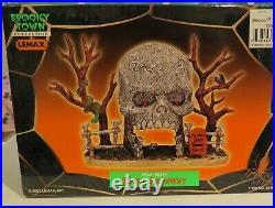 51 pc Spooky Town Halloween Village