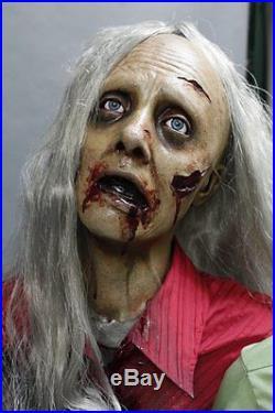 6 Zombie Horde The Walking Dead Haunted House Halloween Prop & Decoration