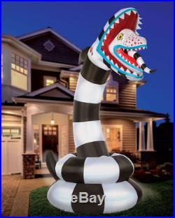 8.9 Ft Sandworm Inflatable Halloween Decoration Beetlejuice Yard Decor