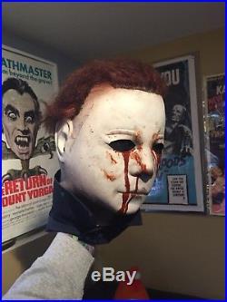 98 Don Post Shatner H2 Michael Myers Stunt Mask