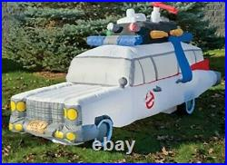 9' GHOSTBUSTERS ECTO-1 ECTOMOBILE HEARSE Airblown Yard Inflatable