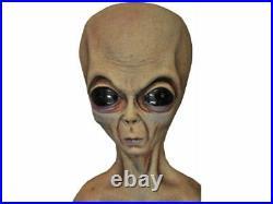 Alien Foam Filled Lifesize Prop UFO Roswell Area 51 Halloween Martian Haunted