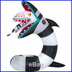 Animated Beetlejuice Sandworm 9.51 ft. Pre-Lit Inflatable Halloween Decoration