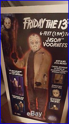 Animated Gemmy Sealed Jason Voorhees Friday The 13th Halloween Misb Full Size