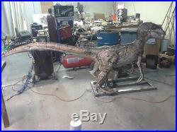 Animatronic Velicoraptor