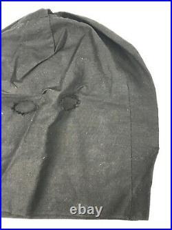 Antique Black Cat Silk Halloween Costume collegeville ben cooper tuffy MINT