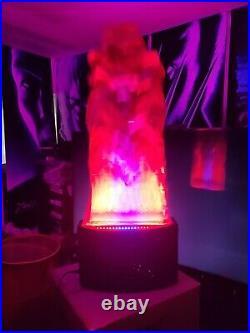 BIG SALE Spirit Halloween Silk Flame machine LED- Decorations