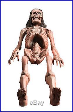 BONES Animated Halloween Horror Prop Skeleton Lifesize