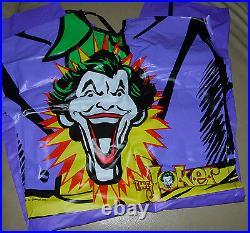 Batman Joker Halloween Costume 1988-1989 Unused Ben Cooper
