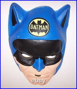 Batman Kids Playsuit M 8-10 Ben Cooper Original 1970s Looks New