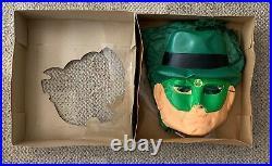 Ben Cooper Green Hornet Halloween Costume C. 1966 Medium Boxed