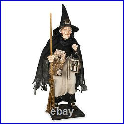 Bethany Lowe 28 Collectible Griselda Witch Doll Figure Vntg Halloween Decor