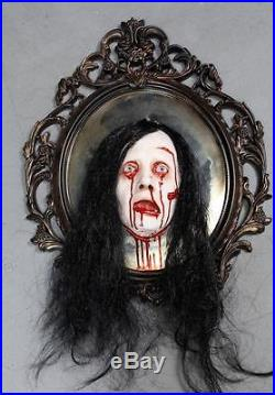 Bloody Mary Mirror Haunted House Halloween Horror Prop The Walking Dead Corpse