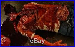 Bloody Mutilated Corpse Haunted House Halloween Horror Prop The Walking Dead