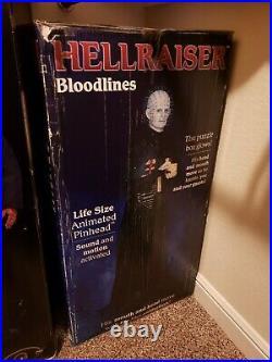 Brand New Unopened Gemmy Halloween Life-Size 6ft PINHEAD Hellraiser