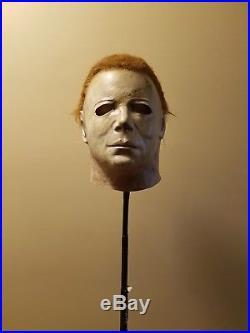 CGP WARLOCK Michael Myers Mask Halloween not Jason Freddy Don Post Myers Chucky