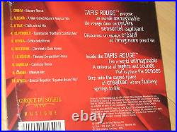 CIRQUE DU SOLEIL CD FEATHER BEAD OOAK CHOKER NECKLACE GOTH Costume FANTASY