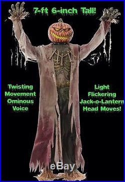 CORNSTALKER Animated Halloween Prop Decoration Life Size 7' 6 Brand New Sealed
