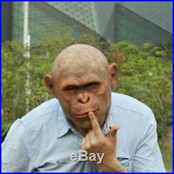 CXX-1 silicone orangutan monkey realistic entertainment mask makeup Gorilla
