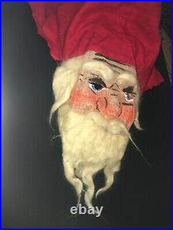 C. 1920s Vintage/Antique Halloween Mask In Gauze