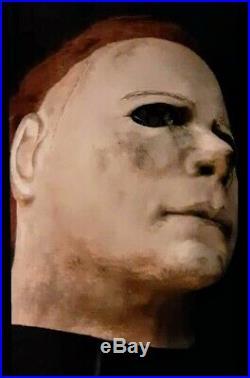 Cgp Warlock Mask Cemetery Gates Productions Michael Myers Halloween 2 II Look