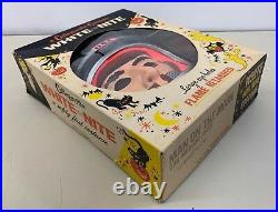 Collegeville Man On The Moon Costume Mask Astronaut Spaceman Mint in Box 286 Med