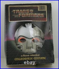Collegeville Transformers Megatron Costume 1984 Hasbro