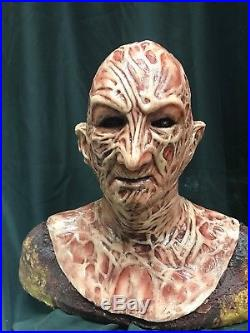Combo Deal WFX Freddy Inferno Vs. Krueger Silicone Mask And Left Hand