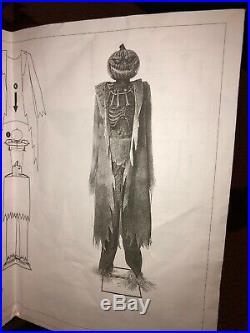 Corn Stalker Halloween Prop Spirit Halloween Morbid Gemmy Rare Htf