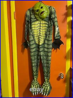 Creature from the Black Lagoon kid's costume Monsterville with mask Universal