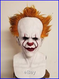 Custom 2017 IT Pennywise Premium Silicone Mask! Made by Shattered FX
