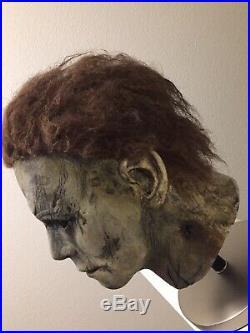 Custom Repaint Rehaul Trick Or Treat Studios 2018 Halloween Michael Myers Mask