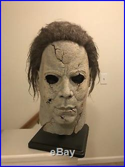 Custom Rob Zombie Michael Myers QOTS Artifact H1 V. 2 Halloween RZ Mask RARE