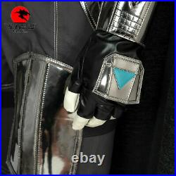 DFYM Star Wars The Mandalorian Cosplay Costume Halloween Outfit with PVC Helmet