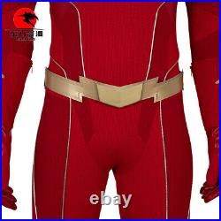 DFYM The Flash Season 6 Barry Allen Cosplay Costume Halloween Outfit Red Men