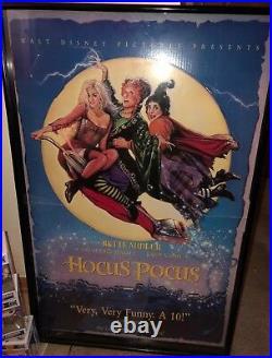 DISNEY HOCUS POCUS Original MOVIE 3-D POSTER Authentic 1993 One Of A Kind