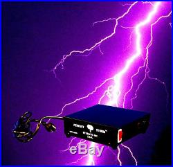 DJ Special Effects PERFECT STORM Thunder Sounds Lights Controller Halloween Prop