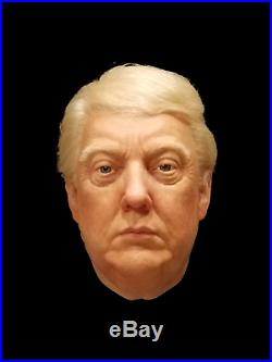 DONALD TRUMP Hyper Realistic Wearable spfx Silicone Mask USA President Halloween