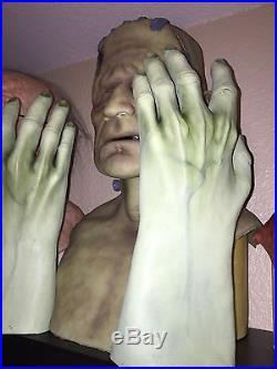 Darkride Frankenstein Silicone Mask SPFX