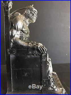 Discontinued Distortions Unlimited Monster Of The Month Electric Chair / Prop