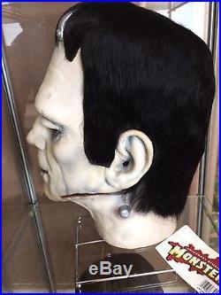 Don Post Mask Karloff Frankenstein Calendar Reissue