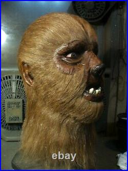 Don Post Studios Custom Classic WOLFMAN Werewolf MASK THARP